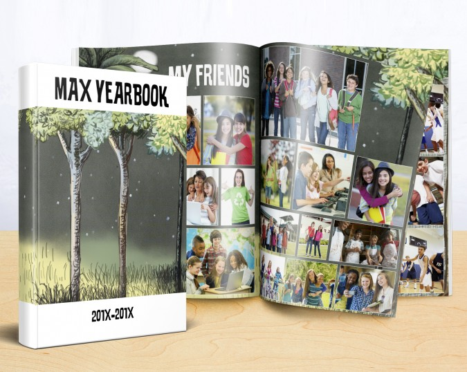 wild things yearbook theme