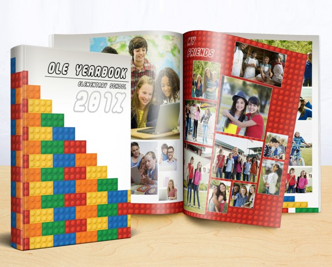 lego yearbook theme idea