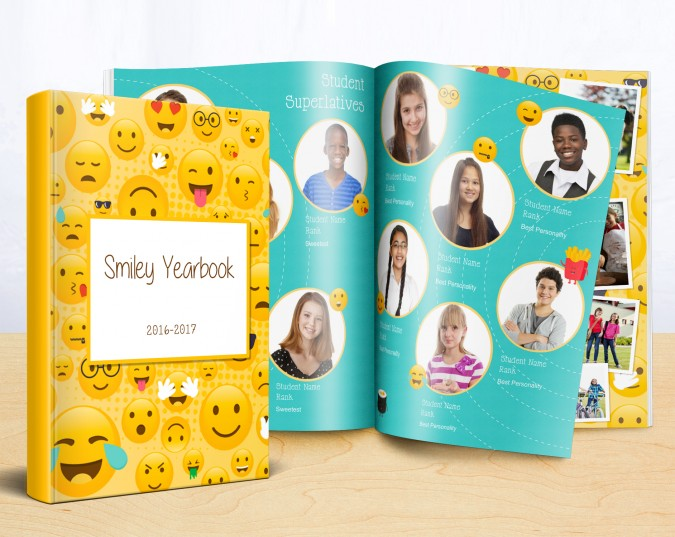 emoji yearbook theme