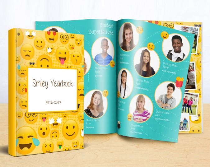 School Yearbook Design Ideas