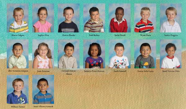 names under picture portrait pages
