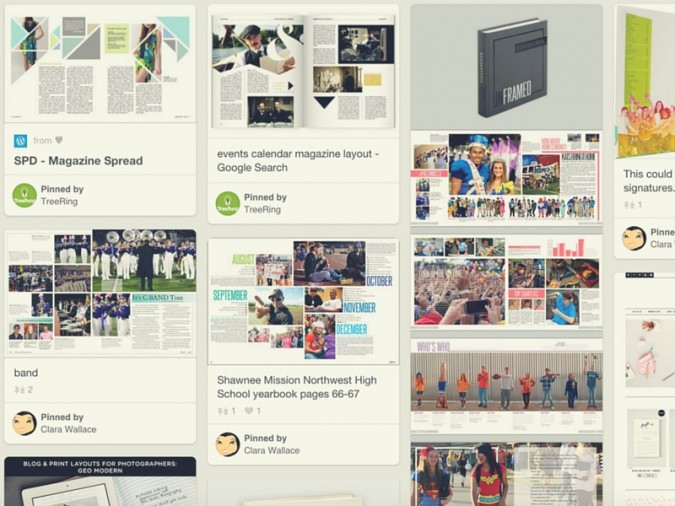 The Best Yearbook Page Layouts We Found On Pinterest