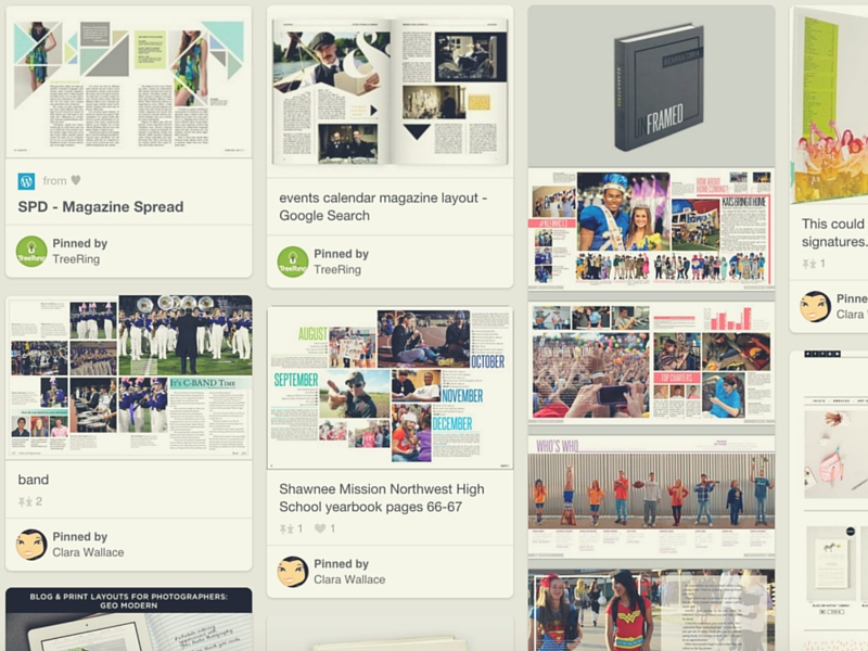 we spent hours on pinterest finding the best magazine design ideas that you can apply to - Yearbook Design Ideas