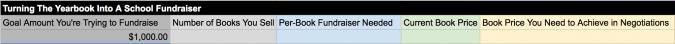 school fundraiser, screenshot 1
