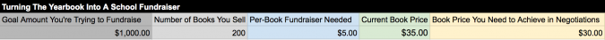 school fundraiser, screenshot 3