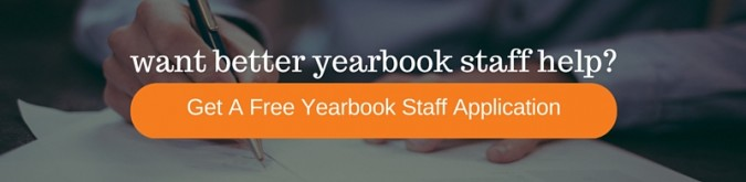 get a free yearbook staff application