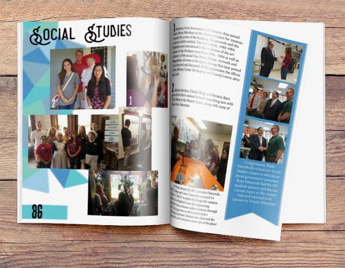 rockport fulton high school - Yearbook Design Ideas