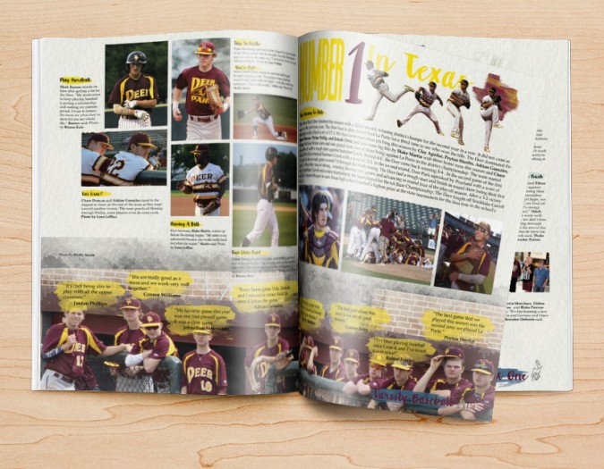 Yearbook Design Ideas for Sports