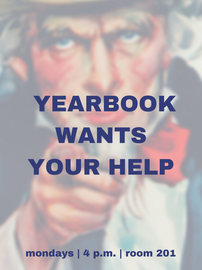 Historical Yearbook Recruiting Poster