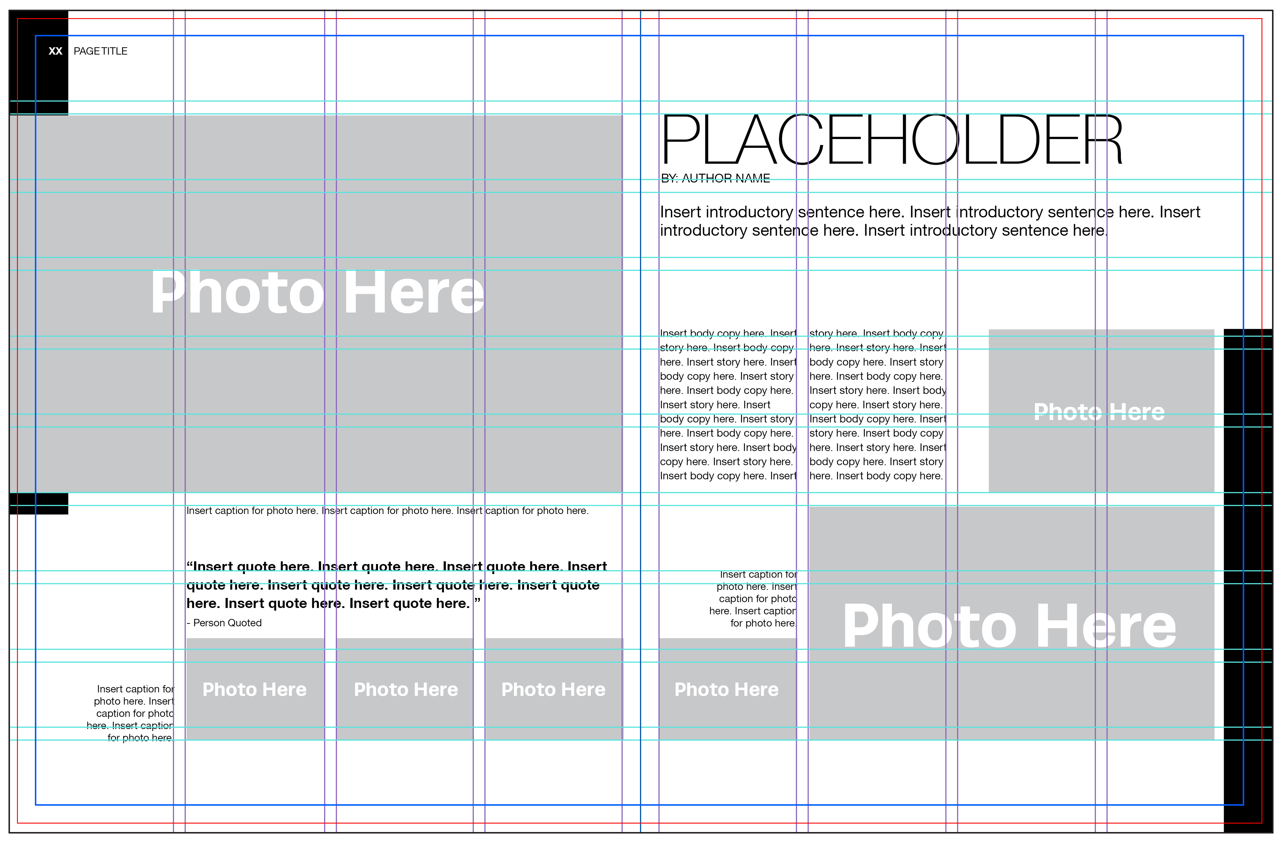 5 steps to yearbook page layout for Yearbook powerpoint template