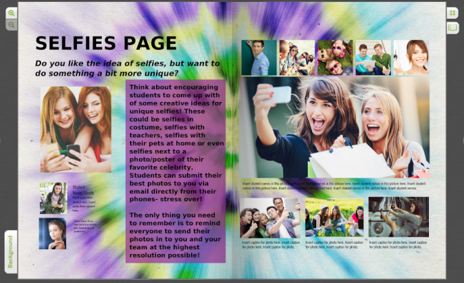 crowdsourced yearbook pages - Yearbook Design Ideas