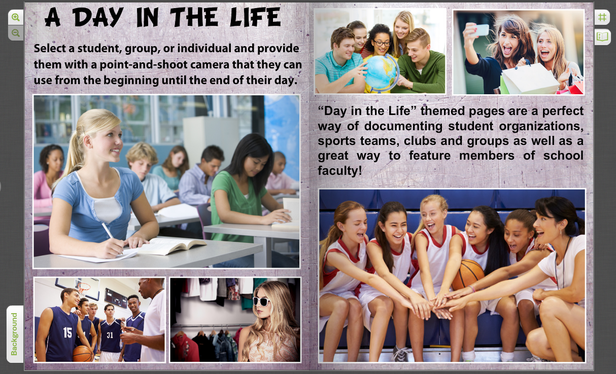 yearbook pages for sports student clubs school life treering blog