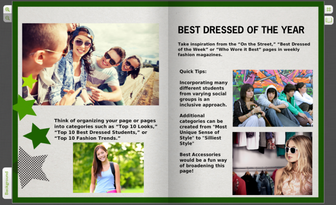 Funny Yearbook Promotion Ideas: Fashion Forward: A Look At Best-Dressed Pages In Your Yearbook