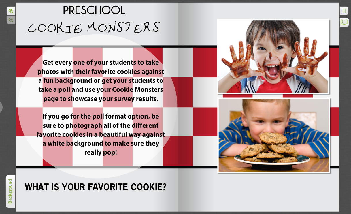 Funny Yearbook Promotion Ideas: Creative Pre-K Yearbook & Elementary Page Ideas