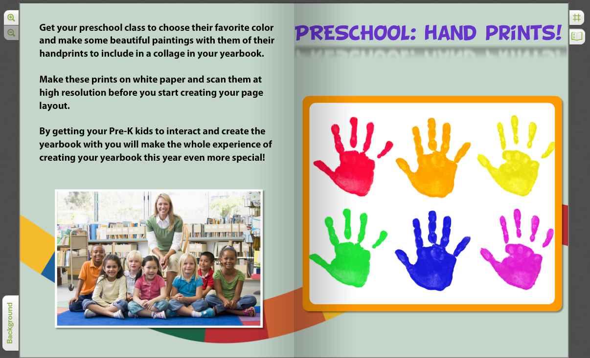 Pre K Quotes Crowdsourced Yearbook Pages With Custom Student Photos  Treering Blog