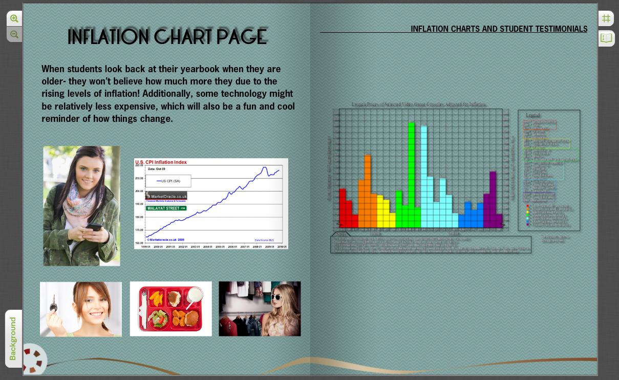 Can be created using our unique easy to use online yearbook creator