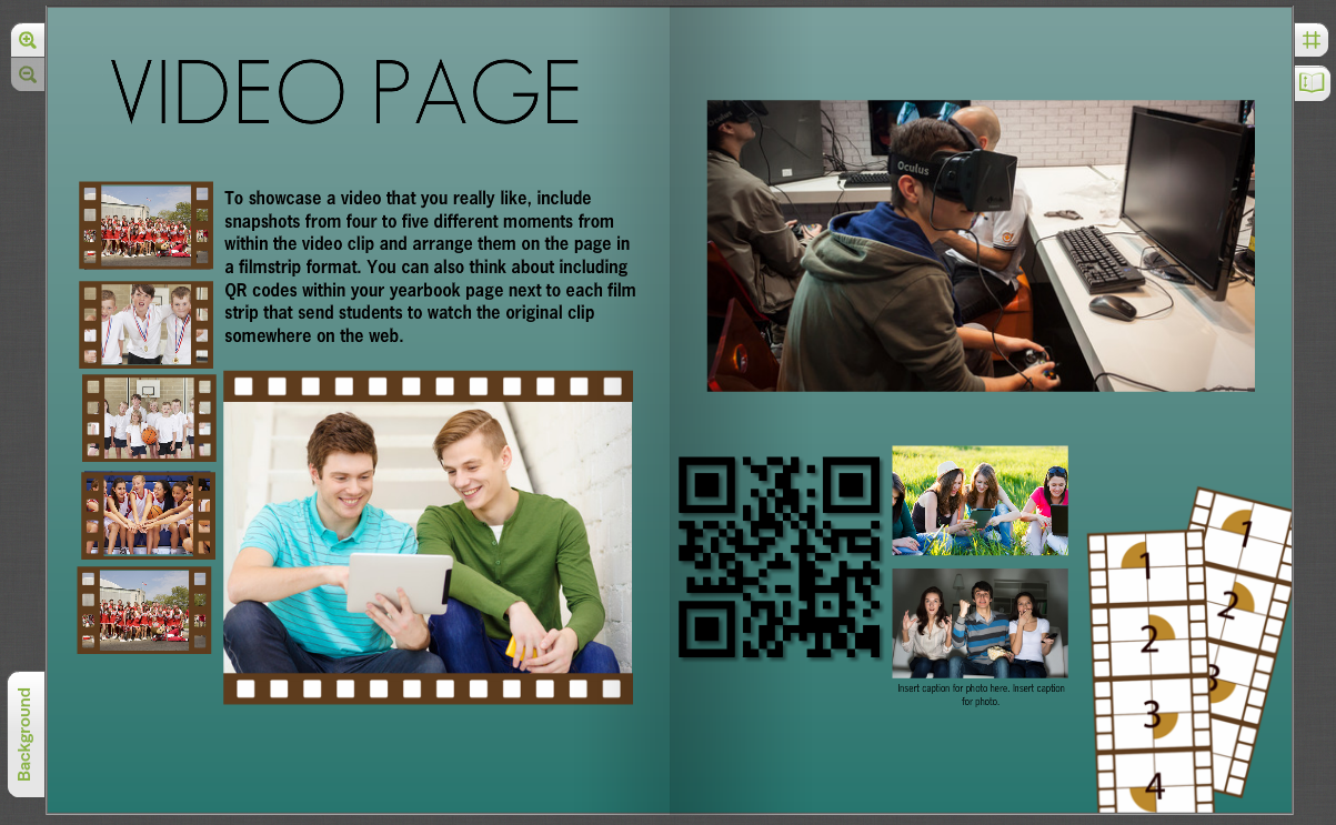 Yearbook Design Ideas yearbook design ideas Interactive Yearbook Pages