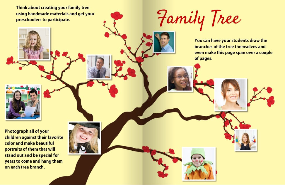 Yearbook Style Guide Tree Inspiration 1