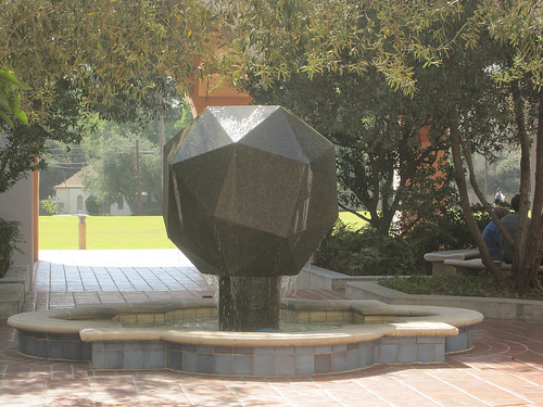Does your campus have interesting art pieces like this? Photo credit: Butz.2013
