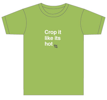 """crop it like it's hot"" yearbook shirts"