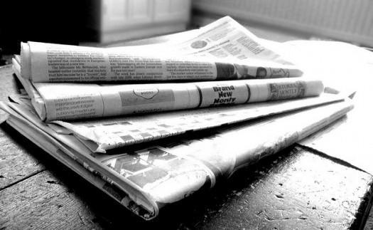 The newspaper still goes out every morning even if someone misses a deadline - the same goes for the yearbook! Photo credit: Flickr CC user Jon S