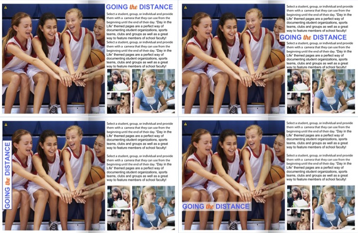yearbook headline ideas placement