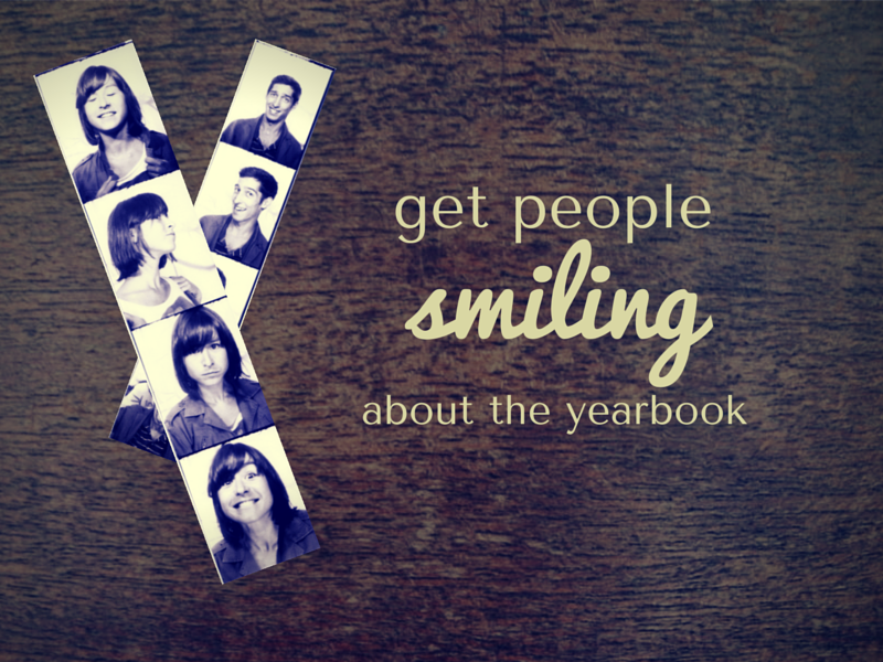 Funny Yearbook Promotion Ideas: Yearbook Marketing Bookmark