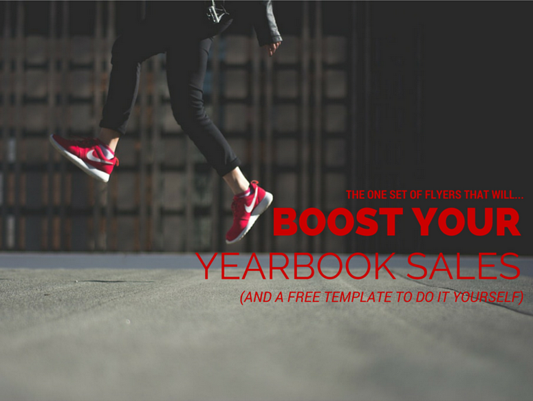 yearbook sales flyers